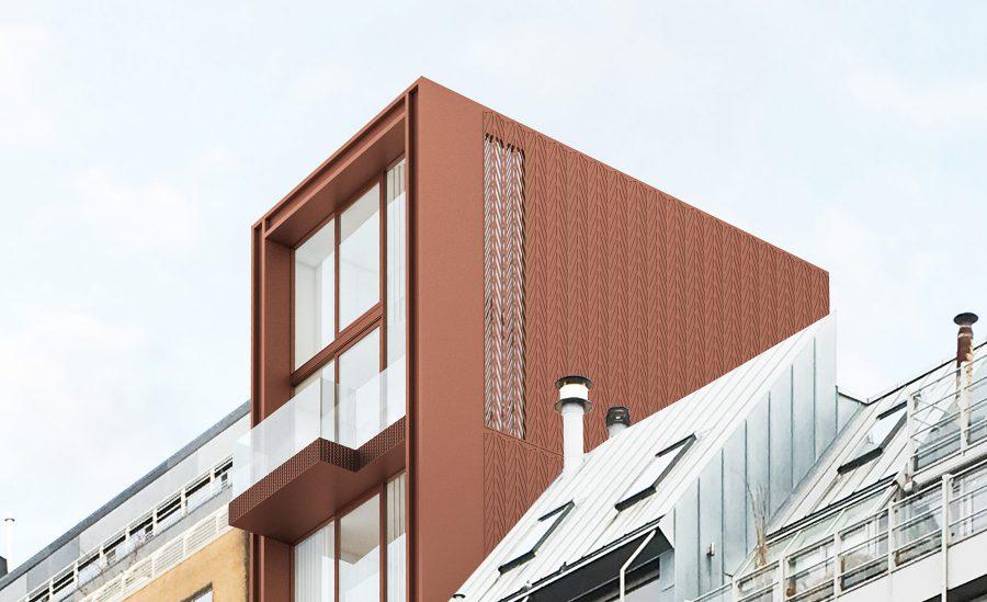 Eenkamerwoningsgebouw Orteliuskaai