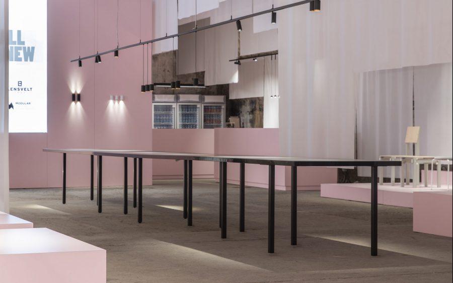 "B brand: Lancering Table ""FIVE"" @ Salone del Mobile"