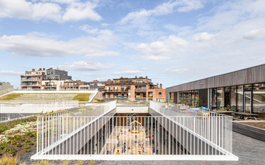 Parkschool op 'Archdaily'