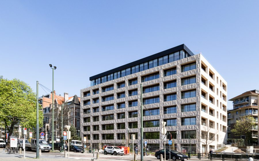Passive Etterbeek offices at BRUZZ
