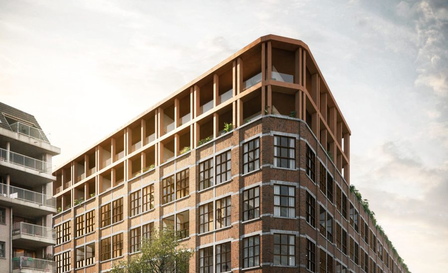 'Residentie Albertbuilding' in GVA