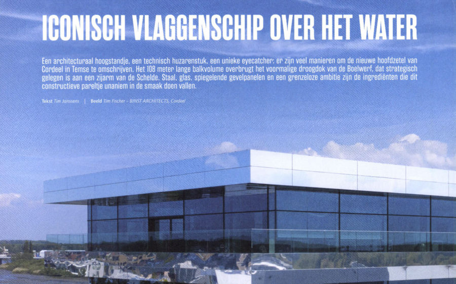 """""""HQ Cordeel"""" in Bouwen aan Vlaanderen"""