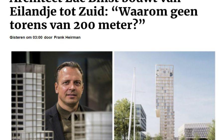 Luc Binst in Gazet van 'Antwerpen – Citta'