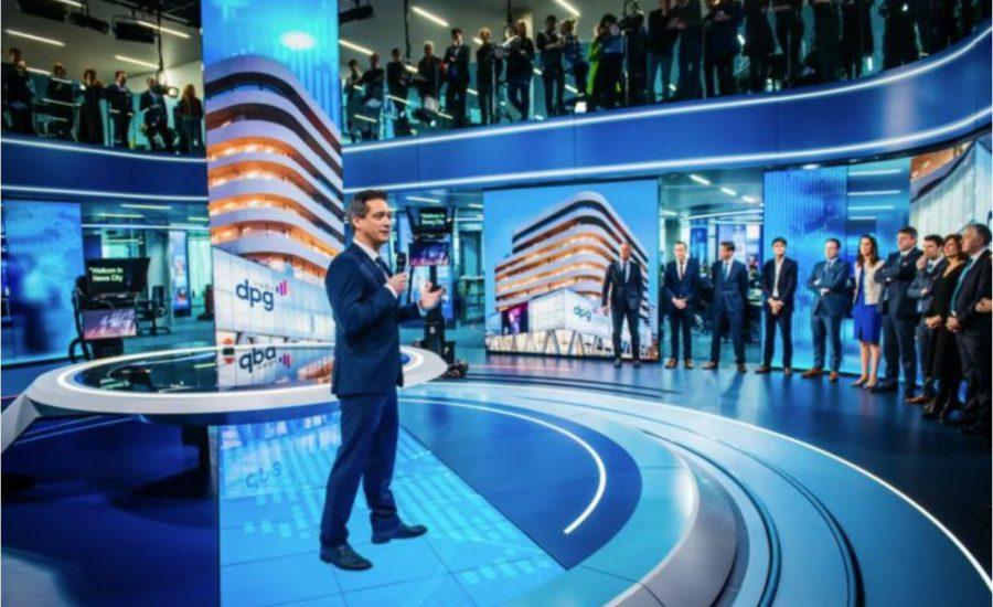 VTM NIEUWS-studio is officieel geopend!