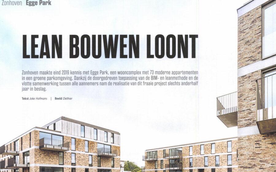 'Egge Park' in Bouwen aan Vlaanderen
