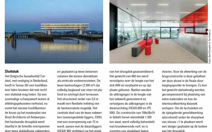 HQ Cordeel in Bouwen met Staal n°276