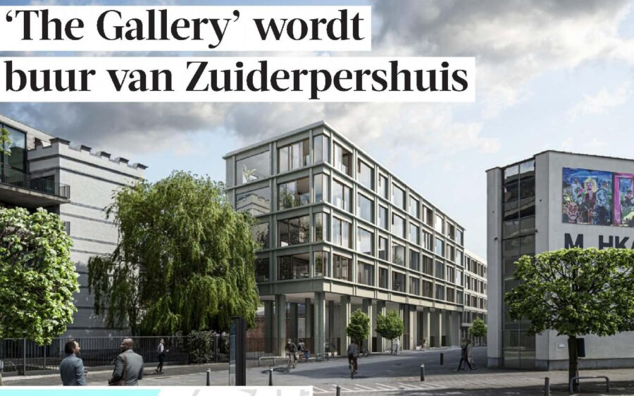 """The Gallery"" in Gazet van Antwerpen"