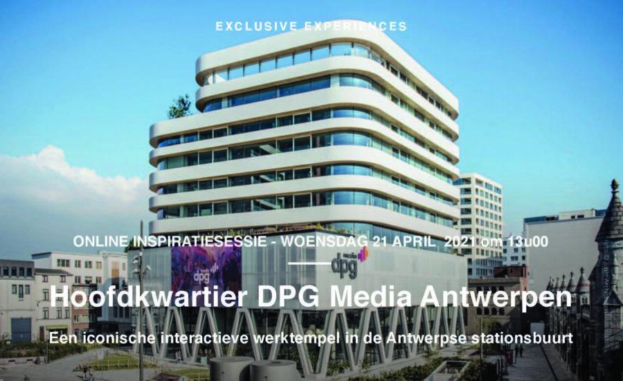DPG Media Inspiratiesessies online 21+23/04/21