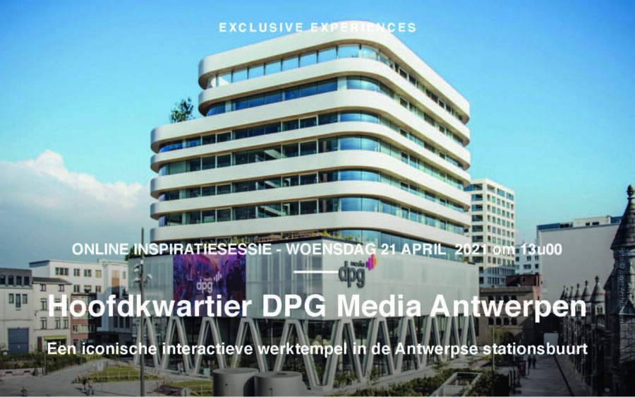 DPG Media Inspiratiesessies online 21+23/04/21