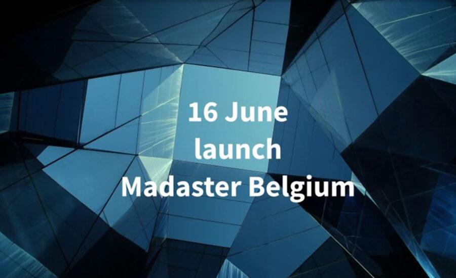 Madaster Max België: lanceringsevent 16.06.21