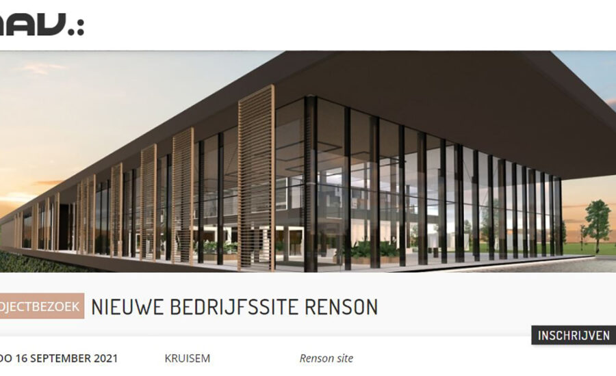 Projectbezoek Renson Outdoor