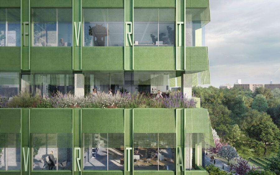 VRT wedstrijdontwerp op architectura.be